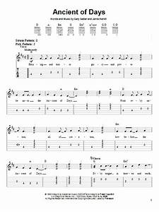 Ancient Of Days   Sheet Music Direct