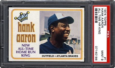 Smr online covers all the major sports too. 1974 Topps 1 Hank Aaron (All Time Hr King) | Baseball ...