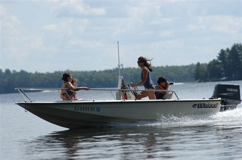 Striper Boats by 1990 Wahoo 16 2 Striper W 2007 Yamaha 90trl The Hull