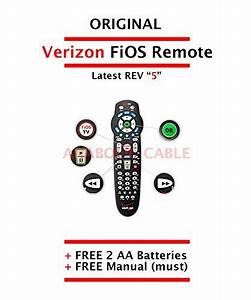 Original Verizon Fios Remote Control Version 5   Free