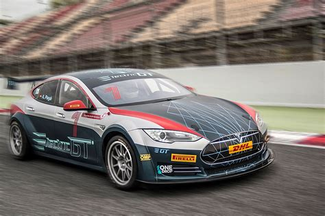 electric gt meet   bhp tesla racing car car