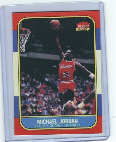 There are many michael jordan cards to choose from. 1986 FLEER MICHAEL JORDAN ROOKIE RC CARD REPRINT #57 NICE CARD | eBay