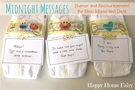 midnight messages   mommies  printable
