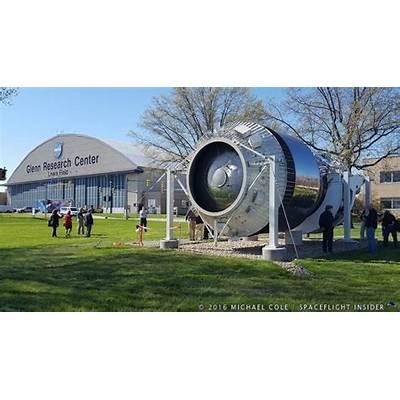 NASA Glenn dedicates display of historic Shuttle-Centaur