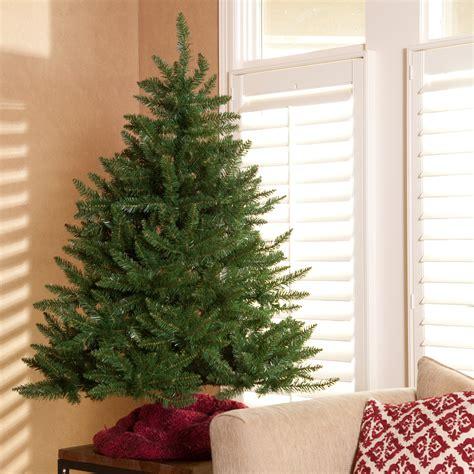 best 4 foot christmas tree classic tabletop unlit tree 4 5 ft ebay