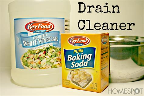 Bathtub Drain Clog Baking Soda Vinegar by Before Running To The Store To Buy Drano For A Clog Try