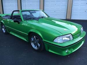 1993 FORD MUSTANG CONV. FOXBODY-347 STROKER- LESS THAN 1K MILES ON BUILD for sale in ...