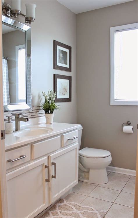 Neutral Bathroom Color Schemes by Paint Transformations 5 Amazing Diy Paint Makeovers