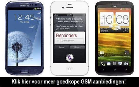 abonnement goedkoop met mobiel