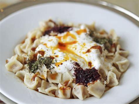 spécialité turque cuisine manger turc à istanbul manti raviolis turcs