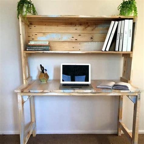 bureau palette bois comment fabriquer un bureau en bois meilleures images d
