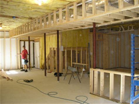 Diy Unfinished Basement Ceiling Ideas by How To Frame Around The Duct Work In Basements