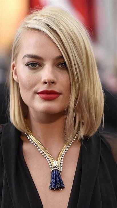 Robbie Margot Face Celebs Square Popular Blonde