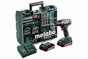 Metabo 18v Akkuschrauber : metabo 602207880 akkuschrauber bohrschrauber bs 18 set mobile werkstatt schnellspannfutter ~ Eleganceandgraceweddings.com Haus und Dekorationen