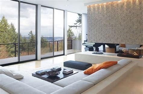 Conversation And Comfy Sunken Living Room Design
