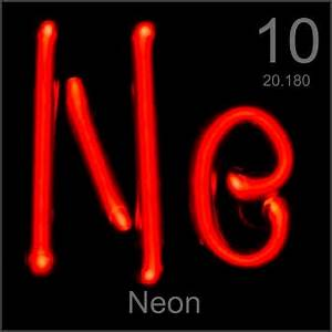 stories and facts about the element Neon in the