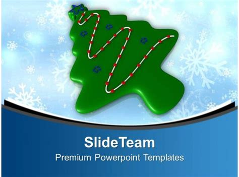 christmas tree  form  cookie powerpoint templates