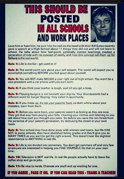 Bill Gates 11 Rules