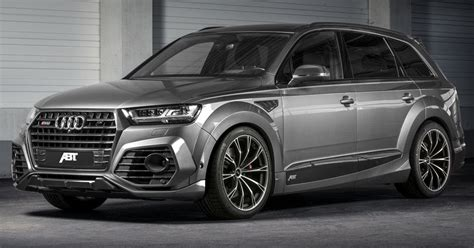 audi sq7 preis new audi sq7 gets the works from abt with 520 horses
