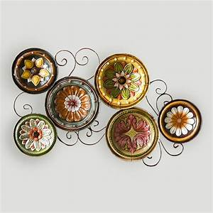 Delfina italian scattered plates wall art world market