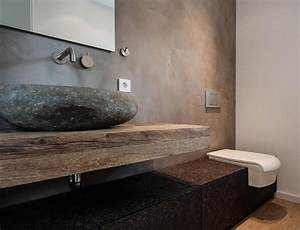 Waschtisch Mit Holzplatte : bad waschtisch ideen ~ Lizthompson.info Haus und Dekorationen