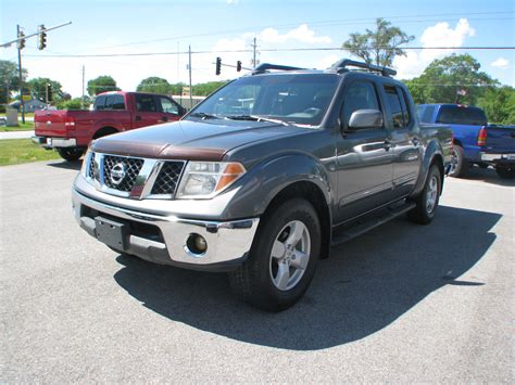 2005 Nissan Frontier Crew Cab by Pre Owned 2005 Nissan Frontier 4wd Crew Cab Se Bed