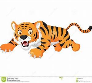 Cartoon Circus Tiger