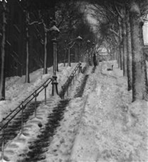 montmartre xviii 232 me arr escalier dans le maquis vers 1900 autrefois 224 de