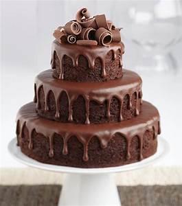 Chocolate Ganache Tiered Cake - JoAnn Jo-Ann