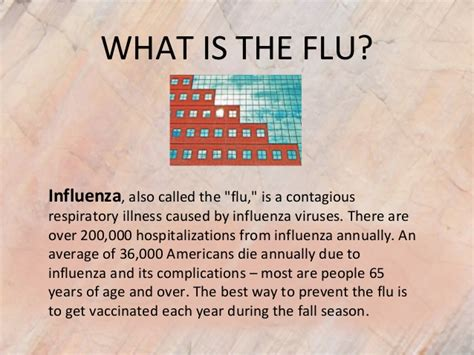 What Is The Flu? Influenza