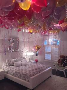 Stephanie loves balloons! So for her 21st birthday, the ...