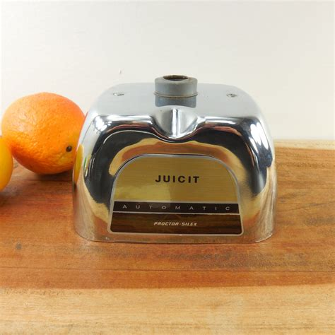 juicer replacement juicit proctor part silex appliance orange housing chrome oldekitchen machine
