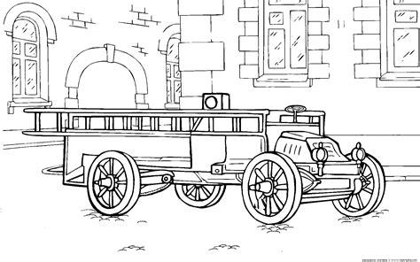 disegni da colorare camion dei pompieri disegni da colorare camion dei pompieri 1904 anno
