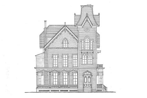 cape  victorian house gothic revival