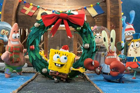 Cbs Premieres 'it's A Spongebob Christmas' On Nov. 23