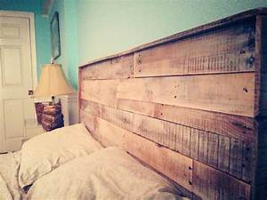 Deco Chambre Ami : t te de lit en bois chambre d 39 ami deco chambre d co maison et d coration maison ~ Melissatoandfro.com Idées de Décoration