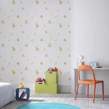 papier peint chambre enfants déco chambre enfant la tendance couleurs de la rentrée