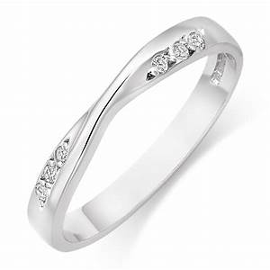 womens white gold wedding rings wedding promise With white gold wedding ring for women
