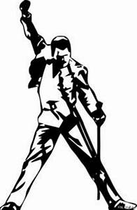 Freddie Mercury Silhouette at GetDrawings | Free download