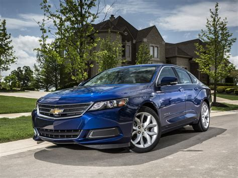 2017 Chevrolet Impala Ppv Finally Replaces Ninth