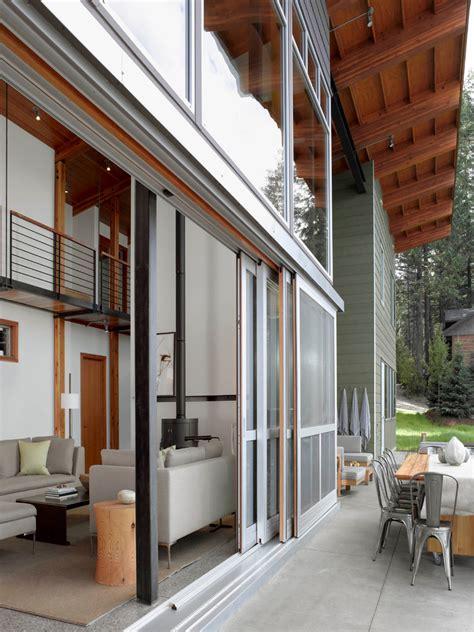 sliding patio door window treatments living room modern