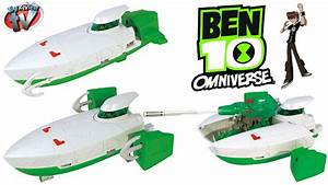 Ben 10 Omniverse Skipper Ship Vehicle Toy Review, Bandai ...