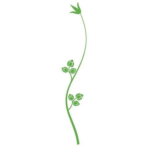 choisir sa cuisine stickers tige et fleurs clicanddeco