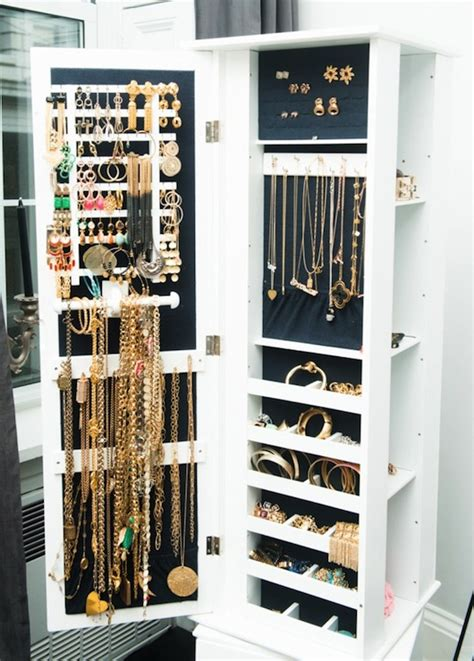 jewelry cabinet contemporary closet  coveteur