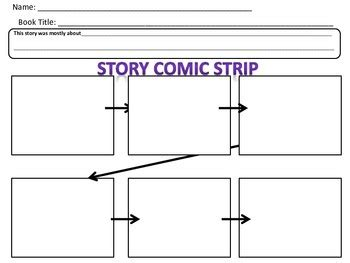 comic page script template template for sequencing creating a comic strip to retell a
