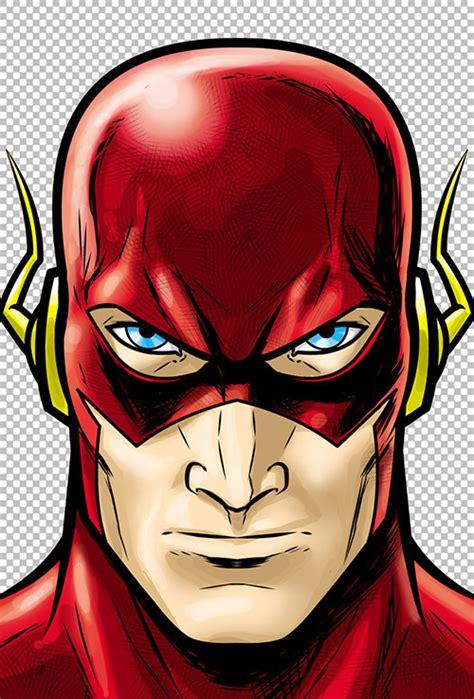 stunning head shots  superheroes villains cartoon