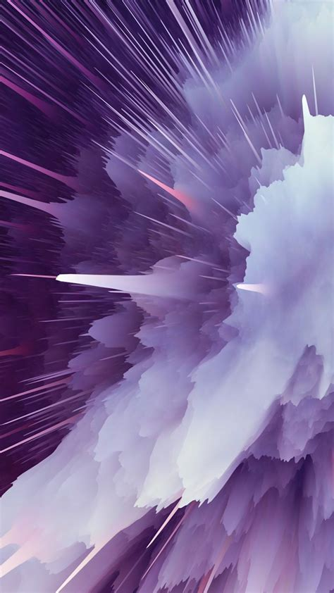 Purple Particle Explosion Free 4k Ultra Hd Mobile Wallpaper