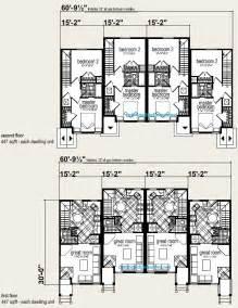 Pictures Plex Floor Plans by Four Plex Building Plans House Design