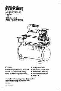Craftsman 15362 Owners Manual