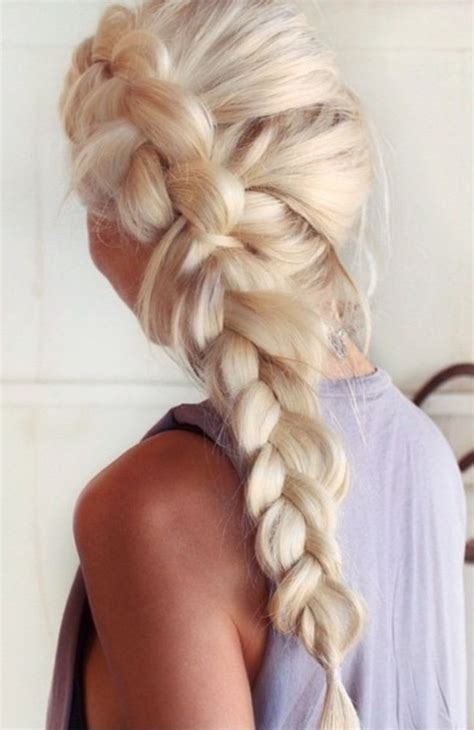Side French Braid Hair Pinterest Beautiful Updo And
